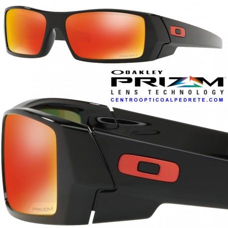 24129083b0df4 Sunglasses Oakley Gascan Polished Black   Prizm Ruby (OO9014-44)