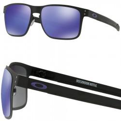 032a176ce9 Sunglasses Oakley Holbrook Metal Satin Chrome / Prizm Black ...