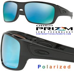 Turbine Polished Black / Prizm H20 Deep Polarized (OO9263-14)