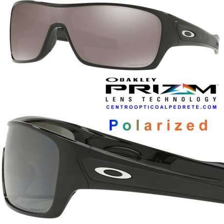 Turbine Rotor Polished Black / Prizm Black Polarized (OO9307-15)