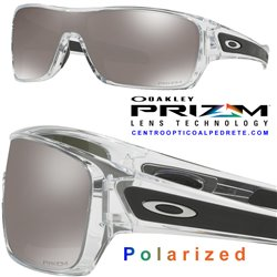 Turbine Rotor Polished Clear / Prizm Black Polarized (OO9307-16)