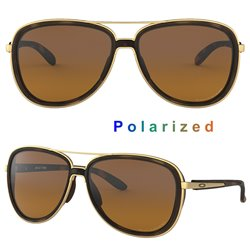 Split Time Brown Tortoise/ Brown Gradient Polarized (OO4129-06)