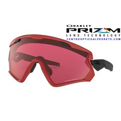 Wind Jacket 2.0 Viper Red / Prizm Snow Torch Iridium (OO9418-06)