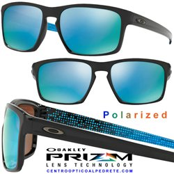 Sliver Abyss Polished Black / Prizm Deep H2O Polarized (OO9262-40)