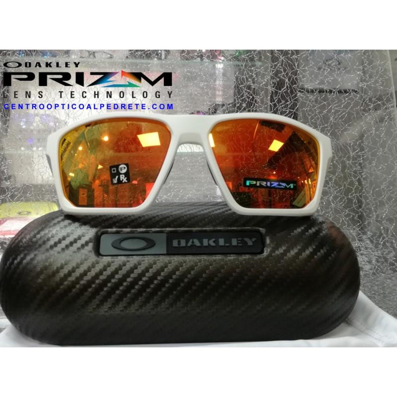 12f0542d63 Oakley Sunglasses TargetLine Matte White   Prizm Ruby (OO9397-03)
