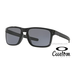Holbrook Mix Custom Polished Black / Grey ( OO9384-6726)