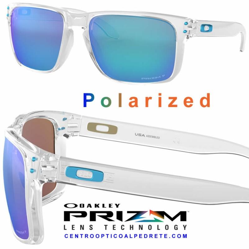 814e80592080 Sunglasses Oakley Holbrook XL Polished Clear / Prizm Sapphire ...