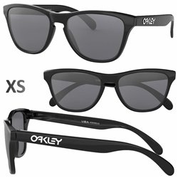 Frogskin XS Polished Black / Grey (OJ9006-01)