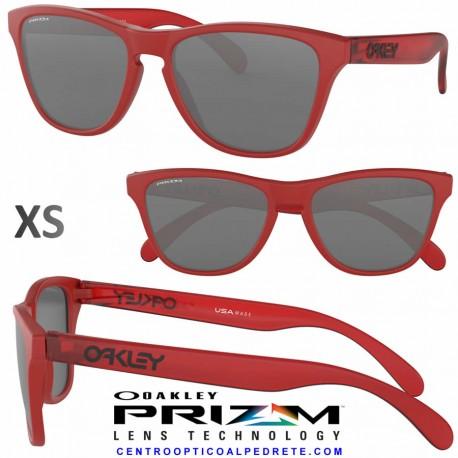 Frogskin XS Matte Red / Prizm Black (OJ9006-08)