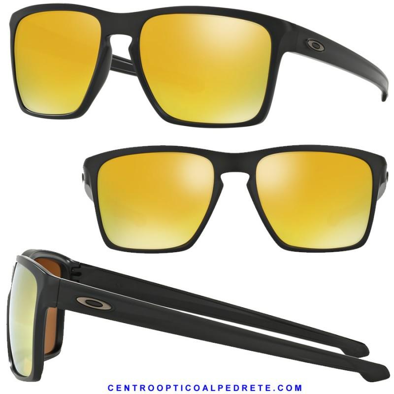 51c10a9c1f Oakley Sunglasses Sliver XL Matte Black   24k Iriidum (OO9341-07)