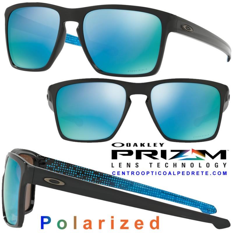255e477e63 Sunglasses Oakley Sliver XL Polished Black   Prizm Deep Polarized ...
