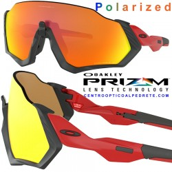 Flight Jacket Red Line / Prizm Ruby Polarized (OO9401-08)