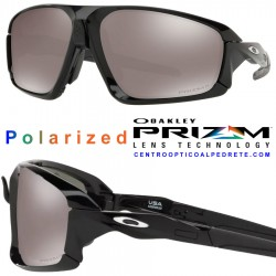 Flight Jacket Polished Black / Prizm Road (OO9401-01)