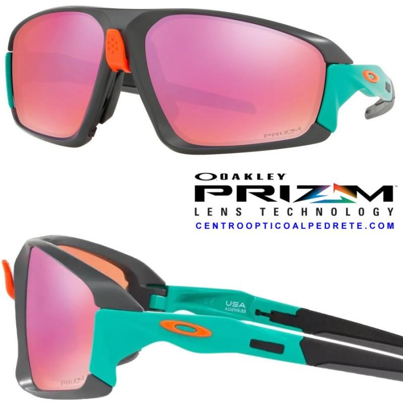 7744621c057 Oakley sport sunglasses Field Jacket Matte Dark Grey   Prizm Trail ...