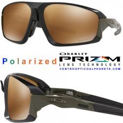 Field Jacket Matte Black / Prizm Tungsten Polarized (OO9402-07)