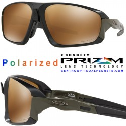 Field Jacket Matte Black / Prizm Tungsten Polarized (OO9402-07)