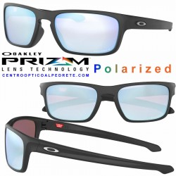 Sliver Stealth Matte Black / Prizm Deep Polarized (OO9408-07)