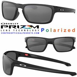 Sliver Stealth Polished Black / Prizm Black Polarized (OO9408-05)