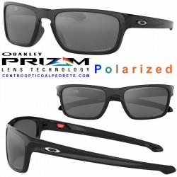Sliver Stealth Polished Black / Prizm Black Polarized (OO9408-05)