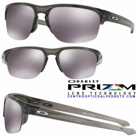 5fec777babc Sunglasses Oakley Sliver Edge Grey Smoke   Prizm Black (OO9413-03)