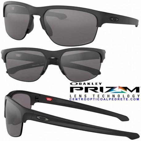 71994be0200 Sunglasses Oakley Sliver Edge Matte Black   Prizm Grey (OO9413-01)