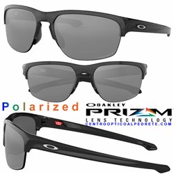Sliver Edge Polished Black / Prizm Black Polarized (OO9413-04)