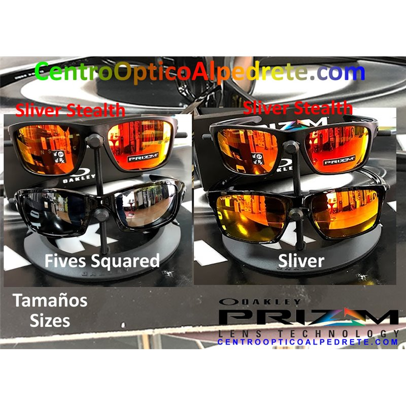 46d306b55b Sunglasses Oakley Sliver Stealth Matte Black   Prizm Ruby Polarized ...