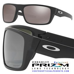 Drop Point Matte Black / Prizm Black Polarized (OO9367-08)