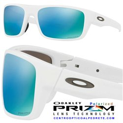 Drop Point Polished White / Prizm Deep Polarized (OO9367-14)