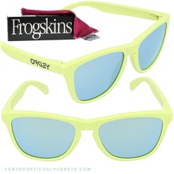 Frogskins Polished White / Ruby Iridium (24-307)