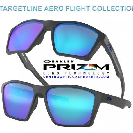 917b2d715b Oakley Sunglasses TargetLine Matte Black   Prizm Sapphire Iridium ...