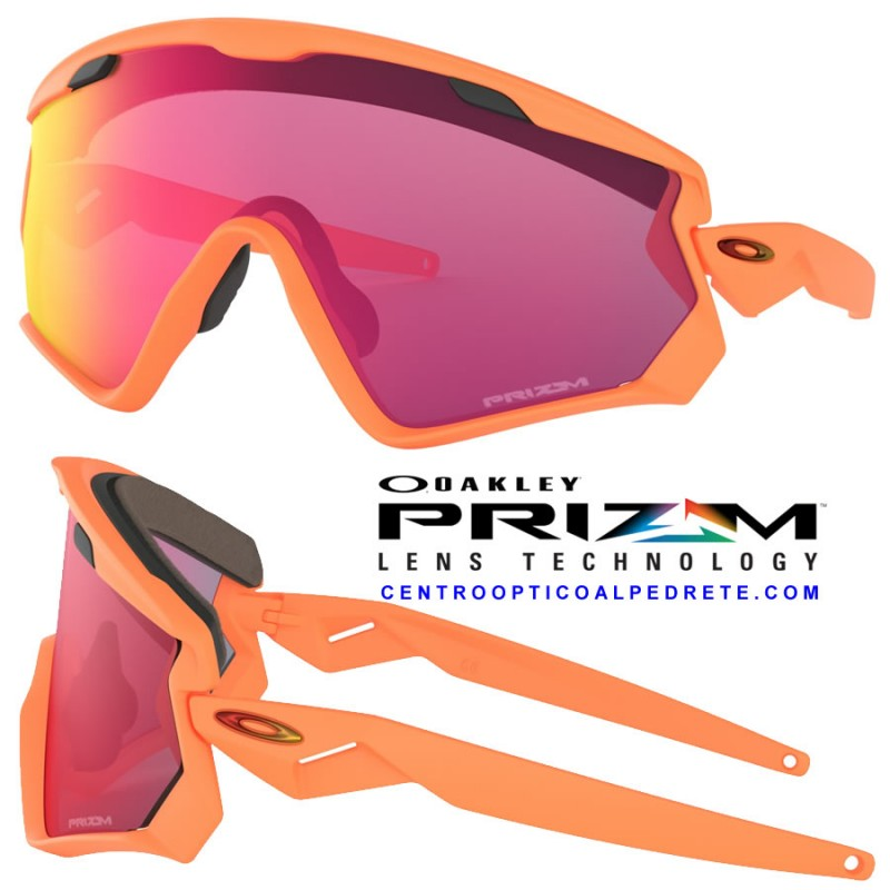Oakley Mainlink Prizm >> Oakley goggles WindJacket 2.0 Matte Neon Orange / Prizm ...