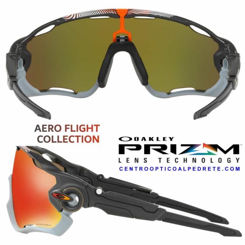 665b46cfb79d Oakley sport sunglasses Jawbreaker Aero Flight Matte Carbon / Prizm Ruby  (OO9290-34)