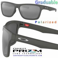 Holston Matte Dark Grey / Prizm Black Polarized (OO9334-11)
