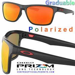 Holston Polished Black / Prizm Ruby Polarized (OO9334-12)