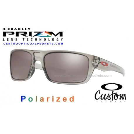 Drop Point Custom Grey Ink / Prizm Black Polarized (OO9367-6862)
