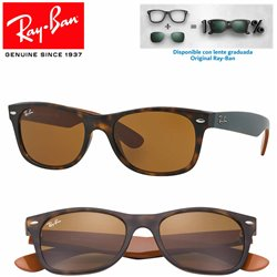 Ray-Ban New WayFarer Matte Havana / Brown (RB2132/6179)