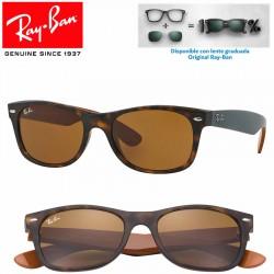 Ray-Ban New WayFarer Matte Havana / Brown (RB2132/6179)