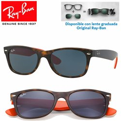 Ray-Ban New WayFarer Matte Havana / Grey (RB2132/6180R5)