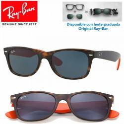 Ray-Ban New WayFarer Matte Havana / Grey (RB2132/6180R5)