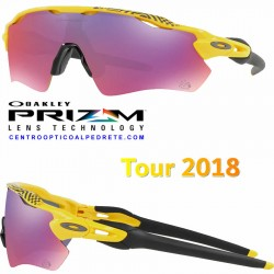 Radar EV Path Tour 2018 Yellow / Prizm Road (OO9208-69)