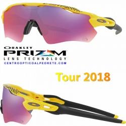 Radar EV Path Tour 2018 Yellow / Prizm Road (OO9208-69)