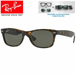 Ray-Ban New WayFarer Tortoise / Crystal Green (RB2132/902)
