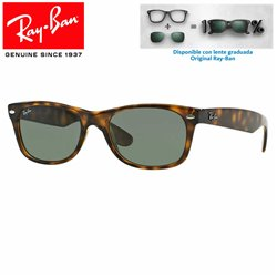 Ray-Ban New WayFarer Tortoise / Crystal Green (RB2132/902L)