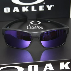 Two Face Custom Steel / Violet Iridium (OO9189-6911)
