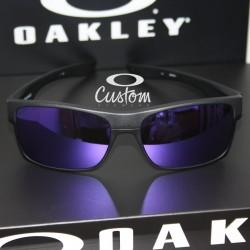 Two Face Custom Steel / Violet Iridium (OO9189-6911)