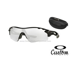 RadarLock Path Custom Polished Black / Clear Black Iridium Photochromic (OO9181-6918)