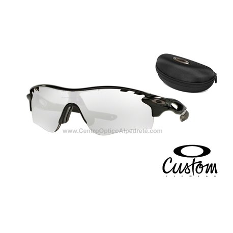 b4cb93dd8fe55 Oakley RadarLock Path Custom Polished Black   Clear Black Iridium ...