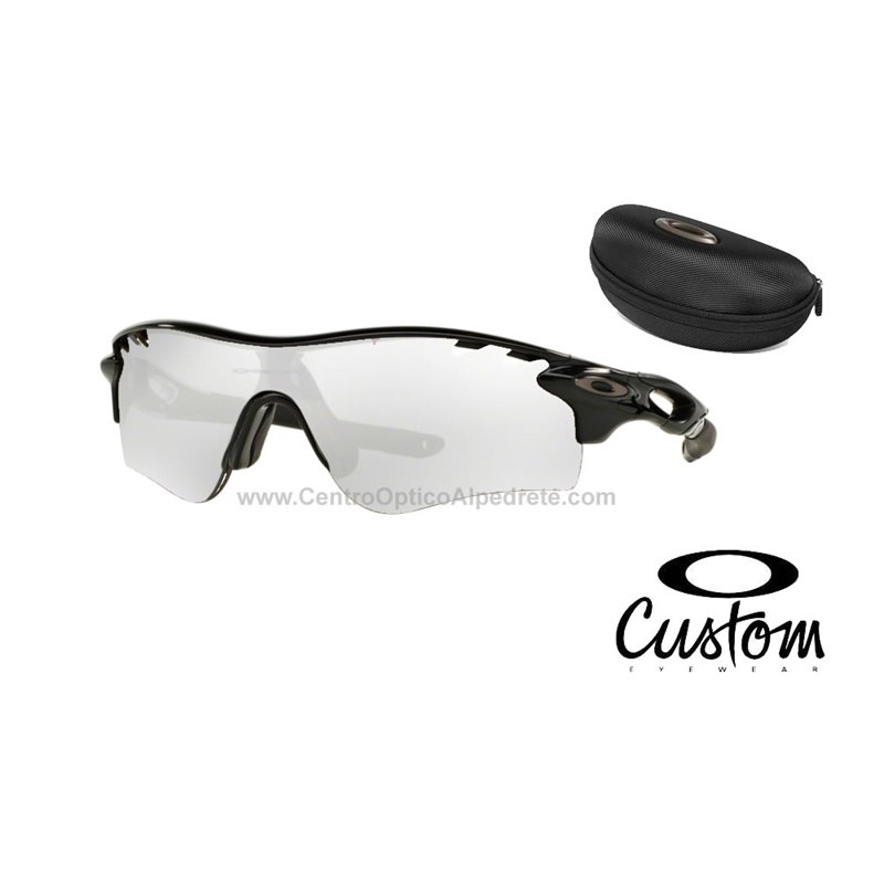 6e6c9505819 Jacket Polished Black   Clear Black Iridium Photochromic (OO9181-36) · Ten  Path ...