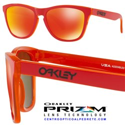 Frogskins Grips Matte Red / Prizm Ruby (OO9013-E0)